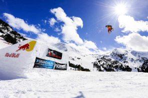 Snowboard en Grand Valira