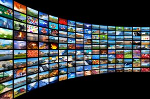 Streaming media concept