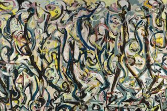 Jackson Pollock (1912-1956). Mural, 1943. 242,9 x 603,9 cm.