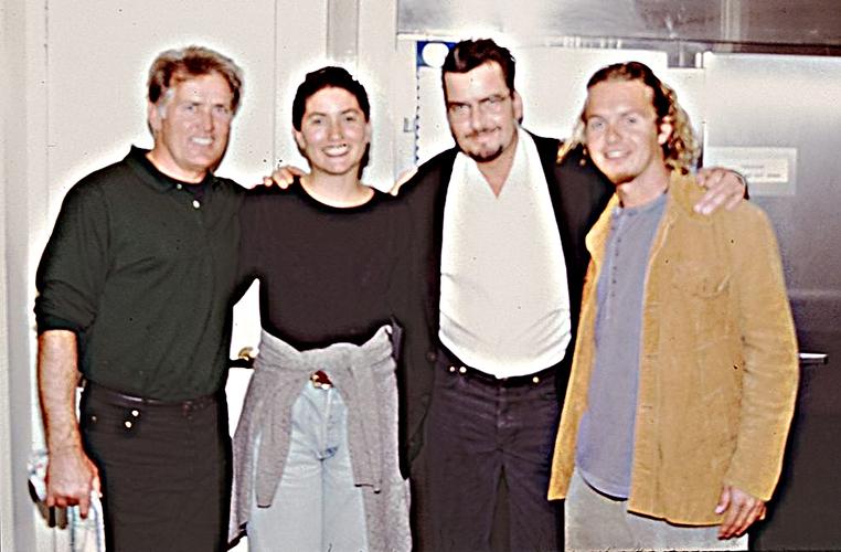 Martin, Charlie, Jeannine y yo